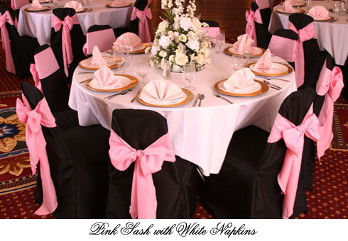the diamond ballroom chair covers black